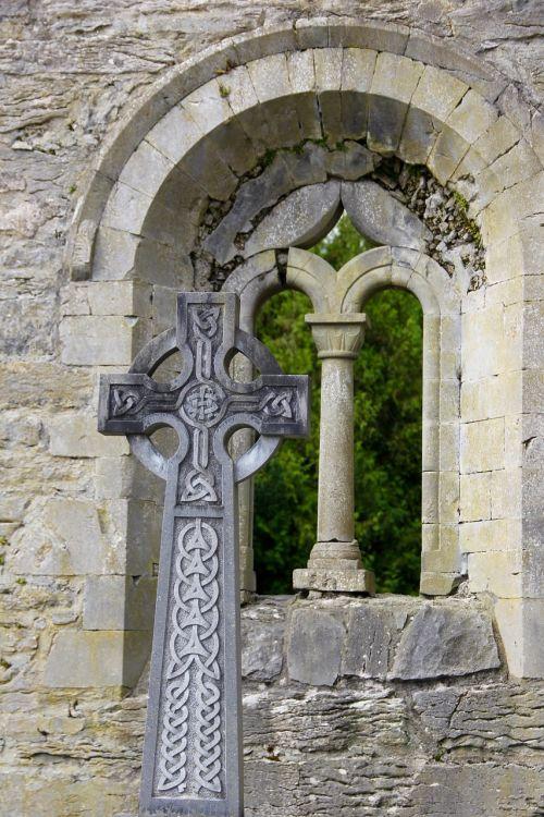 celtic cross arch cross