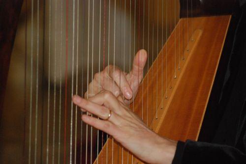 celtic harp hands sound