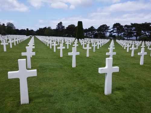 cemetery normandy americans