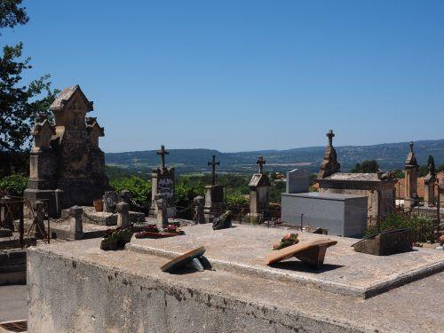 cemetery graves gravestone
