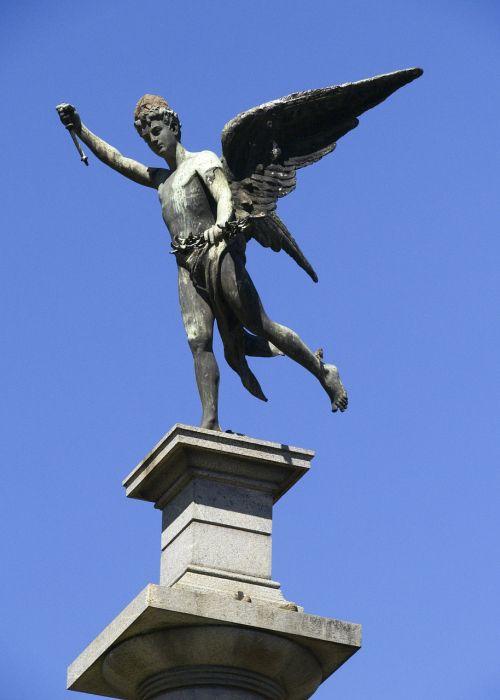 cemetery statue sculpture