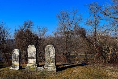 cemetery tombstones daylight