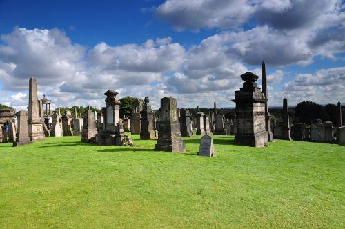 cemetery tombstones monument