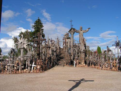 cemetery cross lithuania