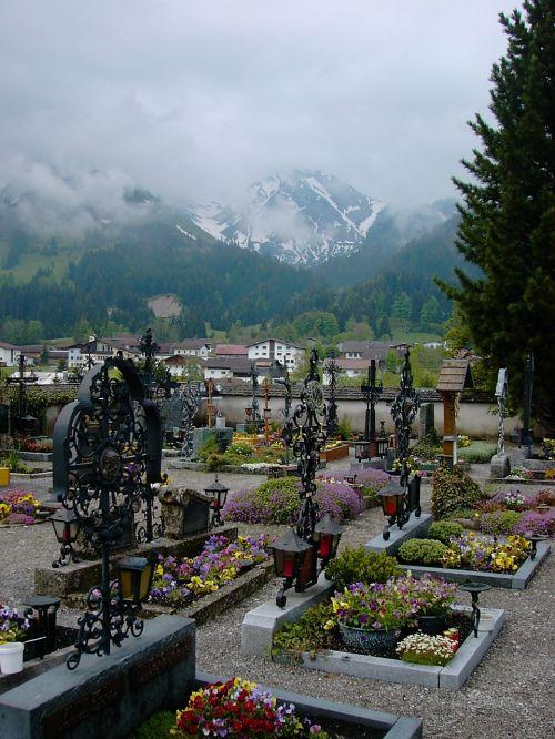 cemetery tyrol cross