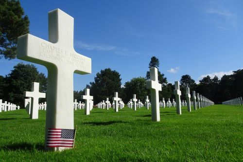 cemetery american normandy