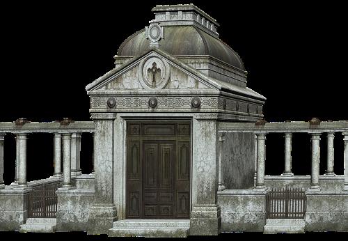 cemetery crypt sepulchre