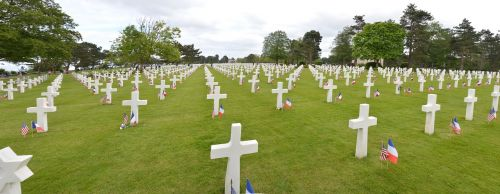 cemetery military normandy