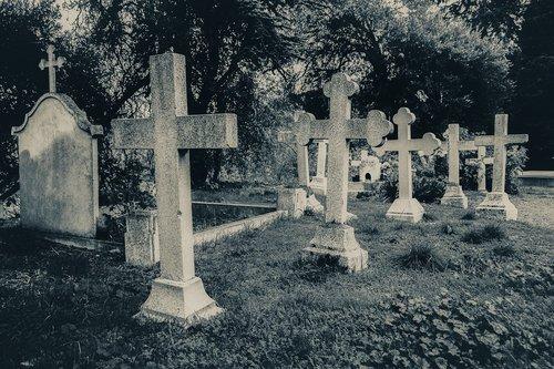 cemetery  old  cross