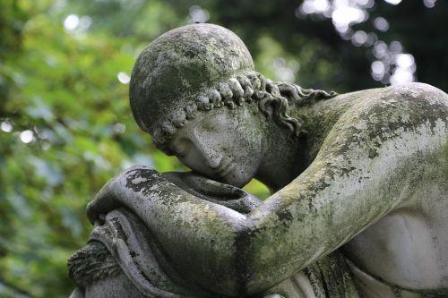 cemetery figure statue