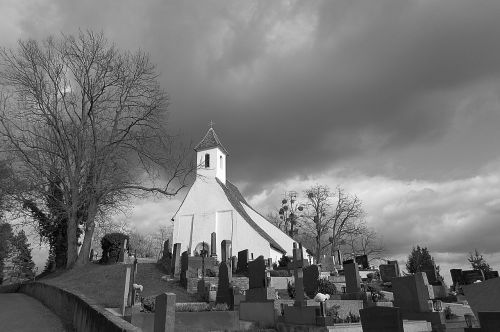 cemetery church graves