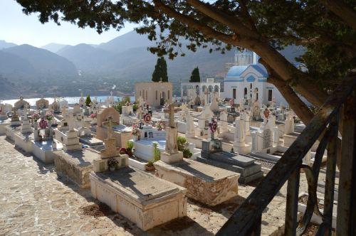 cemetery yard chalki