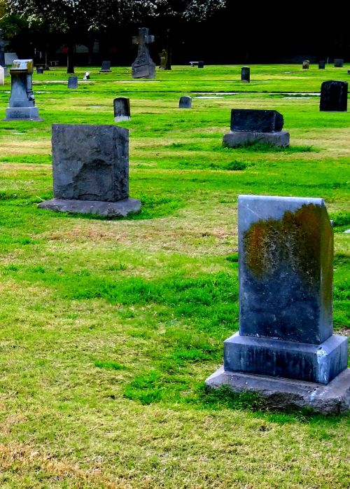 cemetery headstones graveyard