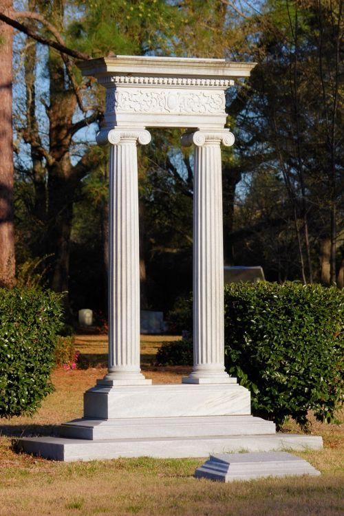 Cemetery Pillars