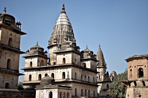 cenotaph  orchha  madhya pradesh