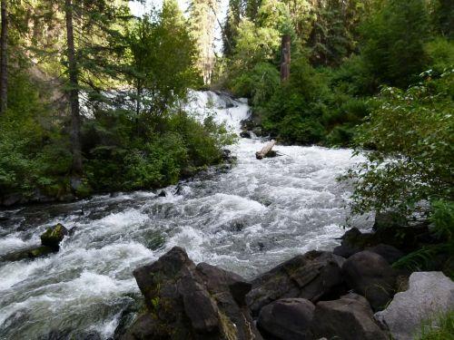 centennial falls bridge creek river