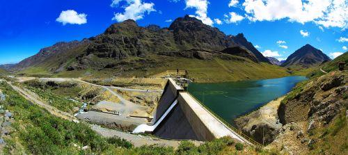 hydroelectric power station huanza peru