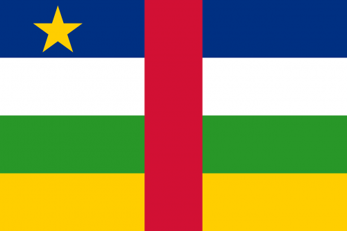 central african republic flag national flag