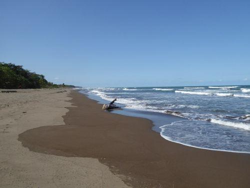 Centrinė Amerika,Kosta Rika,Nacionalinis parkas,papludimys,tortuguero nacionalinis parkas,vanduo,jūra