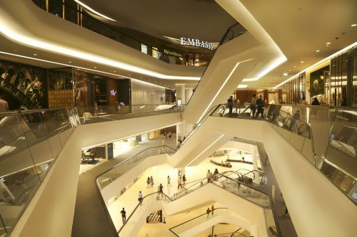 central embassy mall store