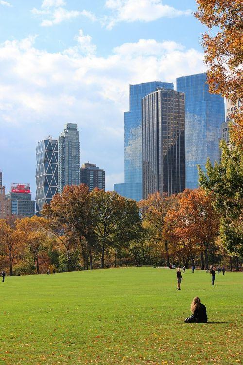 central park new york manhattan