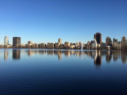central park new york new york city jacqueline kennedy reservoir