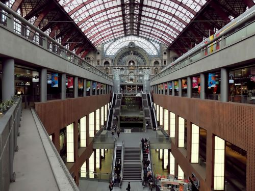 central station antwerp station