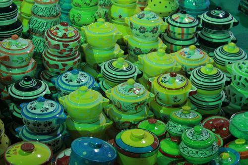 ceramic colorful array