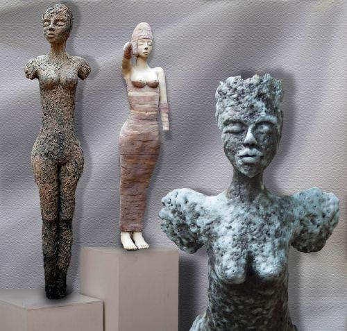 ceramic art figure