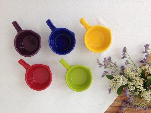 ceramic  vessels  colorful