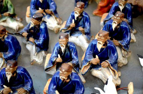 Ceramic Chinese Figurines