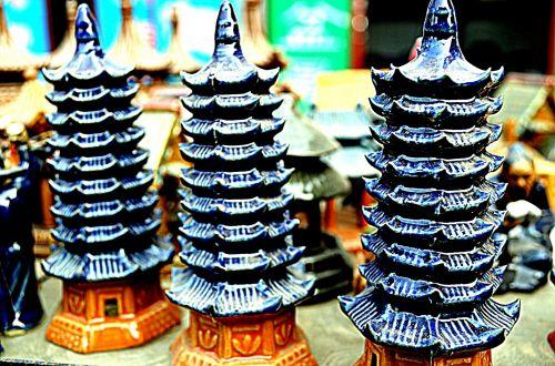 Ceramic Pagodas