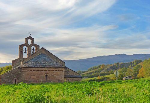 cerdanya chapel romanesque chapel