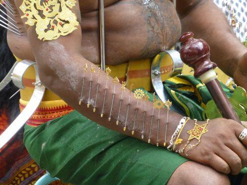 needle piercing ceremony