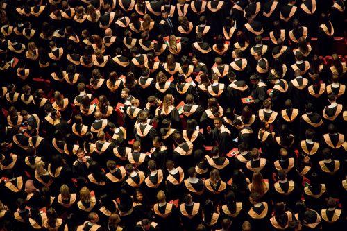 ceremony graduates graduation