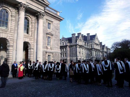 ceremony university graduation