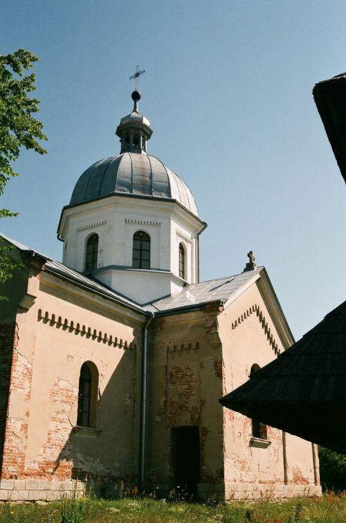 Orthodox Church In The Village Of Habita