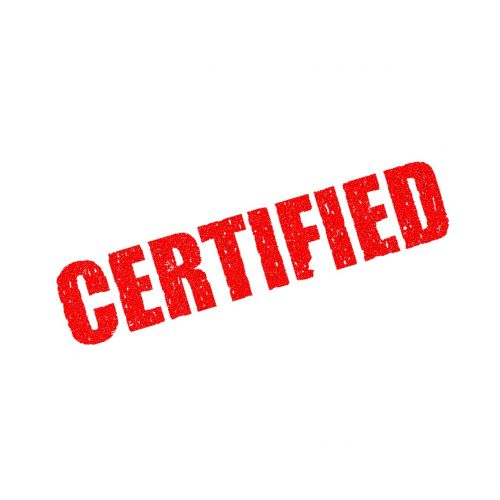 certified genuine authentic