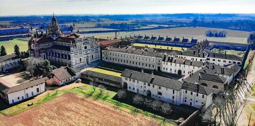 certosa di pavia  pavia  monastery of santa maria delle grazie