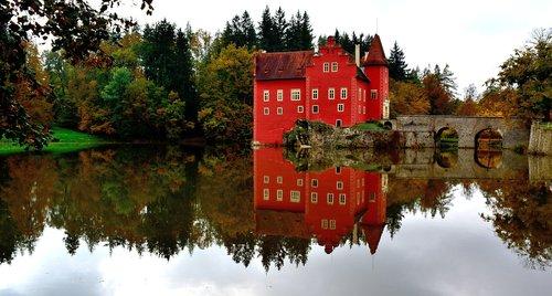 červená lhota  chateau  south bohemia
