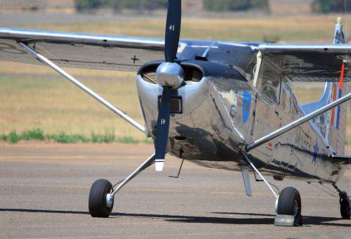 Cessna 185e Of Saaf Mueum