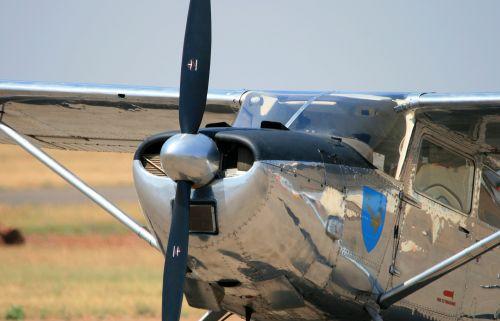 Cessna 185e Skywagon Of Saaf Museum