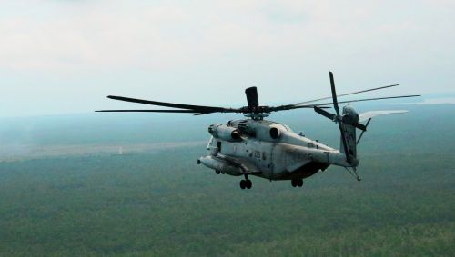 ch-53e super stallion helicopter heavy lift