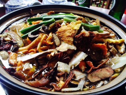 chafing dish wild mushroom mushroom