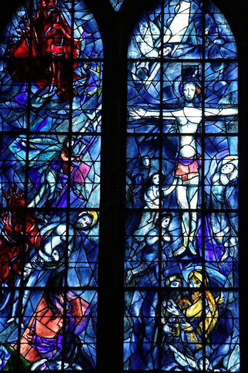 chagall window mosaic