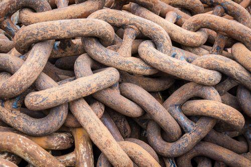 chain industrial steel