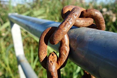 chain link iron