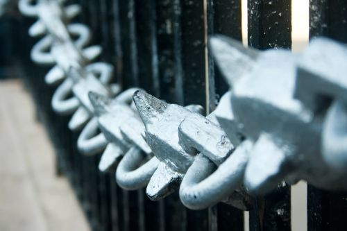 chain chain links metal