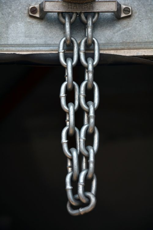 chain security hanging