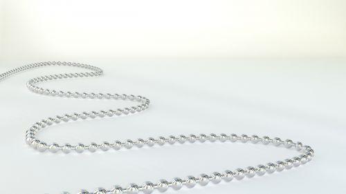 chain 3d silver